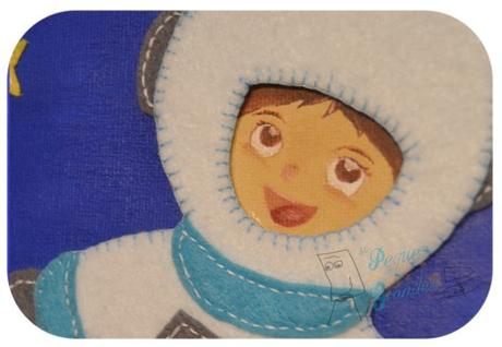 Cuadro infantil de astronauta