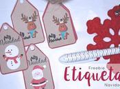 Freebie: Etiquetas navideñas