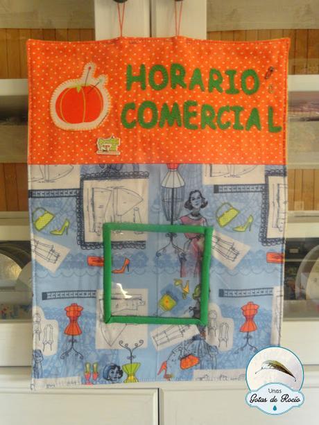 Horario Comercial.