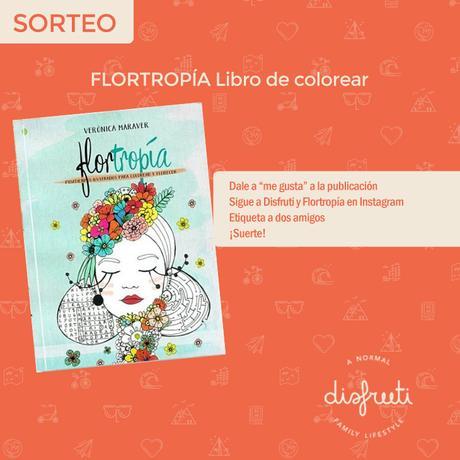"Sorteo: Libro para colorear ""Flortropia"""