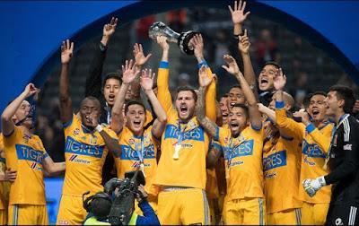 Los clubes del futbol mexicano felicitan a Tigres por su campeonato