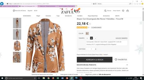 MIS LISTA DE DESEOS DE ZAFUL