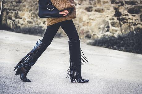 Camel Oversize Sweater+Haul Zara