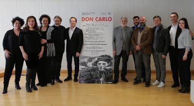 'DON CARLO' DE VERDI EN LES ARTS... 'EL LEGADO'. 12/12/2017