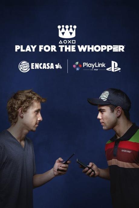 Burger King y PlayStation lanzan conjuntamente el reto Play for the Whopper