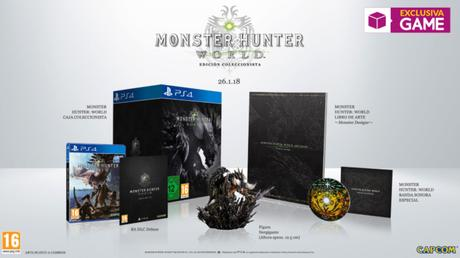 Monster Hunter World edición coleccionista en GAME