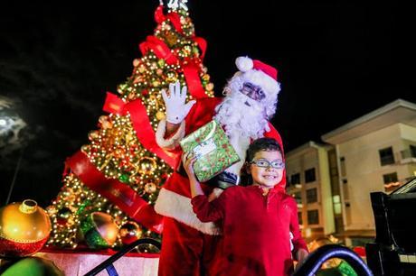 Panamá Pacífico iluminó la Navidad con el encendido de su árbol