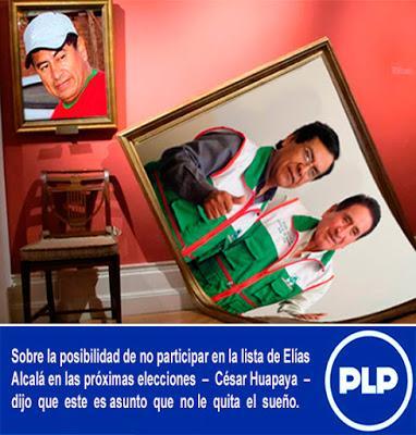CÉSAR HUAPAYA: ELÍAS ALCALÁ PUEDE HACER LO QUE LE DÉ LA GANA…