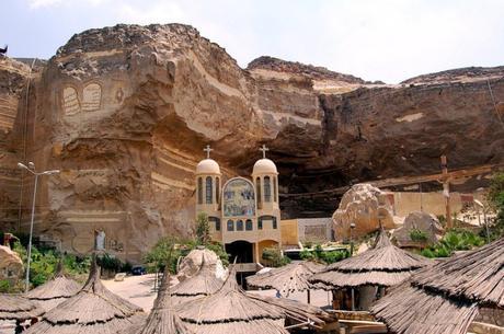 Iglesia Cueva en Egipto