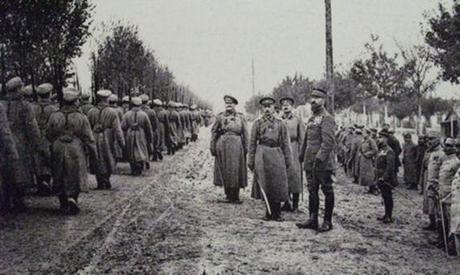 El Cuerpo expedicionario ruso en Francia, 1917