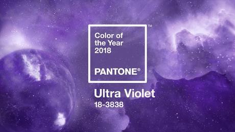 Ultra violet, color Pantone para el 2018