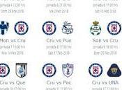 Calendario Cruz Azul para Clausura 2018