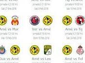 Calendario América para Clausura 2018