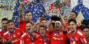 El Rey de Copas está de vuelta, Independiente es el Campeón de la Copa Sudamericana