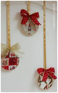 guirnalda de navidad manualidades