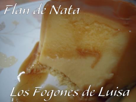 FLAN DE CAFÉ Y NATA SUPER RÁPIDO