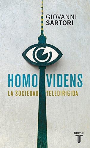 Homo videns de Giovanni Sartori