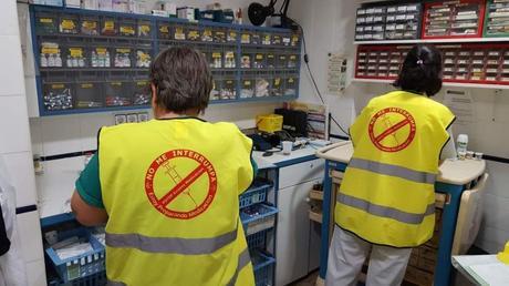 El Hospital Punta de Europa de Algeciras lanza campaña para mejorar la seguridad en la preparación de medicación