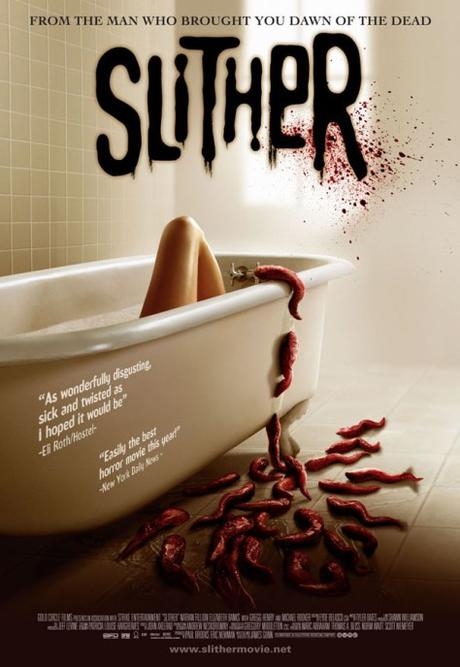 Slither: La plaga (2006), criaturas rastreras
