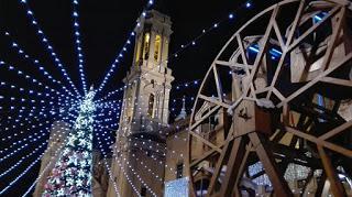 Mercado y feria de Navidad en Zaragoza
