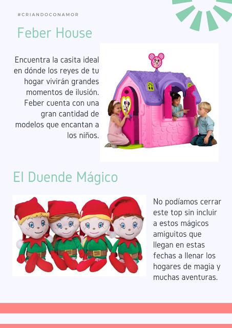 Especial navideño: Los juguetes favoritos de los niños