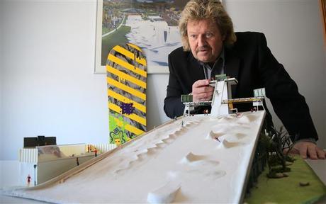 El hombre de la nieve en TSR Inc.: Dieter Sturm