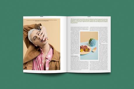 """""""La Belleza de lo Raro"""", el desagradable y atrapante photoshoot protagonizado por Eduardo Casanova"""