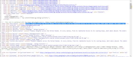 Editado: Malign Portents: Web abierta y cuenta atrás en marcha