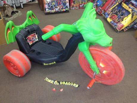 El Dragón-Triciclo de D&D (1984)