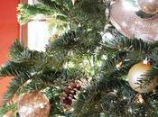 Decoración Navidad negro dorado