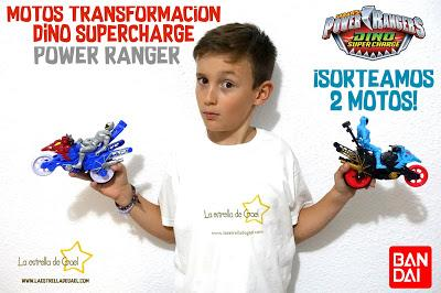 Motos Transformación Dino SuperCharge de Power Ranger