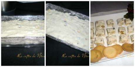 Turrón de Camembert y frutos secos