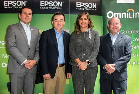 Epson presenta soluciones de punto de venta omnilink