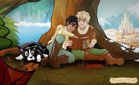 """Una pareja gay protagonista del cuento infantil """"Tierra Prometida"""""""