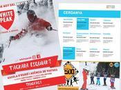 Guía para esquiar niños
