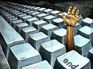 Hoy mataron Internet