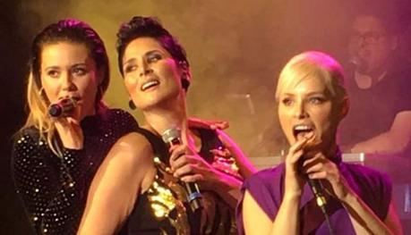 Rosa, Soraya y Lorena
