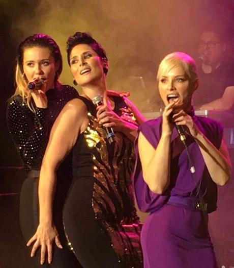 Rosa López, Lorena Gómez Y Soraya Arnelas Cantaron Juntas En Madrid