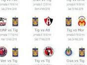 Calendario Tigres para Clausura 2018