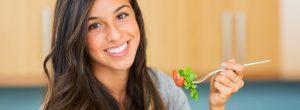 Sonríe cuando comas tus vegetales: por el bien de tus hijos