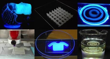 Tintas con bacterias para imprimir materiales 'vivos'