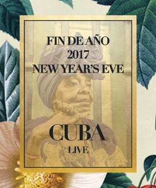 Fin de Año inspirado en Cuba