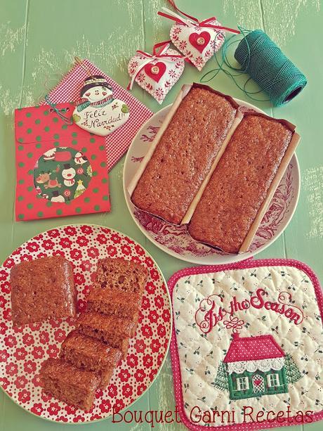 Receta de Navidad. Pan de naranja y especias (sin gluten)