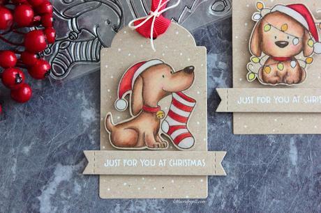 Last Minute Christmas Tags