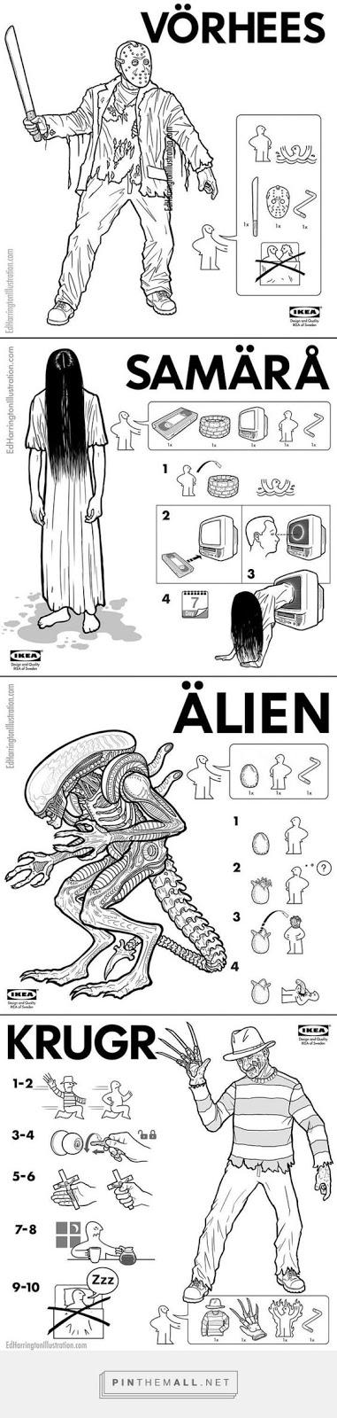 Monstruos del Ikea (Con instrucciones!)