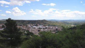 Vista aérea de Buñol.