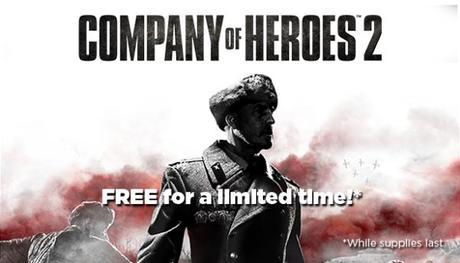 Company of Heroes 2 para Steam gratuito por tiempo limitado en Humble Store