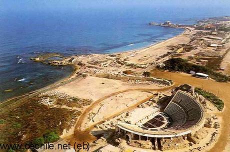 Maravillas de Israel: Teatro romano en Cesarea.