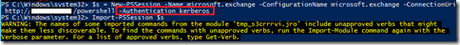 Error HTTP bad request status 400 al establecer una sesión remota a Exchange con Powershell