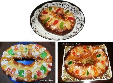3 Exquisitos roscones